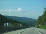 Mountains in Pennsylvania