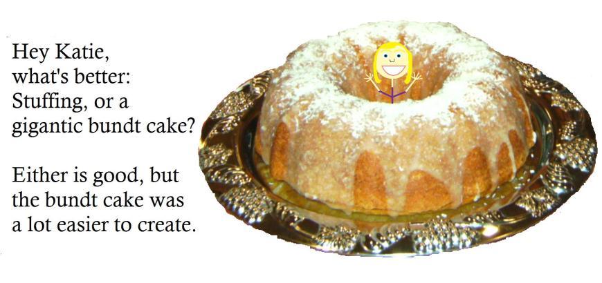 Katie's bundt cake