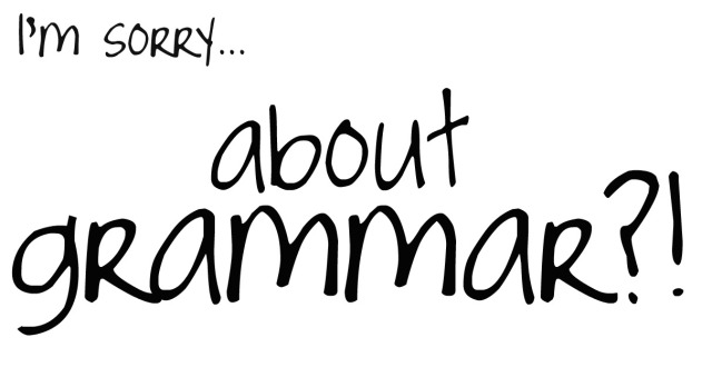 A blog about grammar?!
