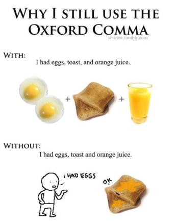 Why I still use the Oxford comma image
